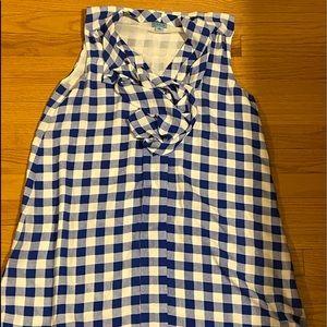 CeCe gingham print dress